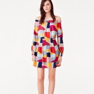NEW Tory Burch Serena Tunic Red Canyon Colourspace